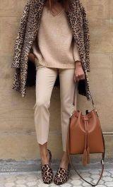 как стильно носить леопард