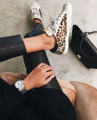 тренд 2018 леопард - обувь с леопардом