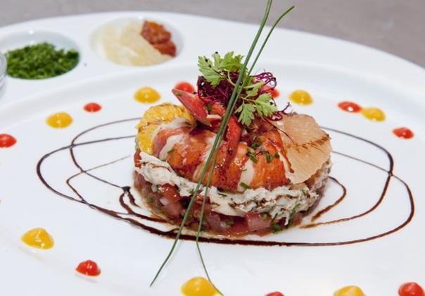 вкусные оригинальные блюда из рыбы поесть в Милане