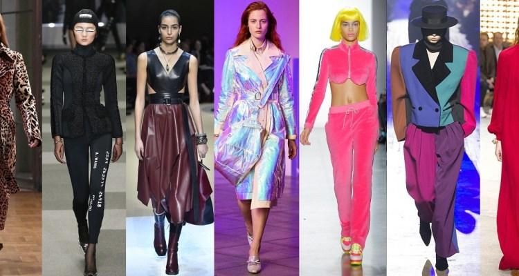 все модные тренды осень зима 2018 2019