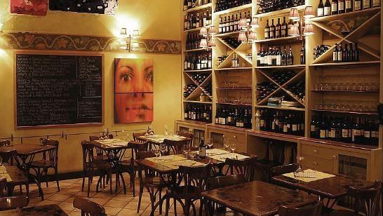 рыбный ресторан в Милане ciribiciaccola