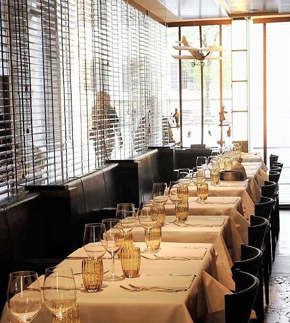 вкусные лучшие рыбные ресторан в центре Милана langosteria cafe