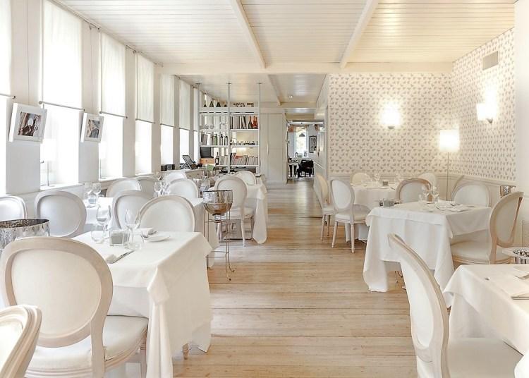 елегантный вкусный ресторан в Милане olei