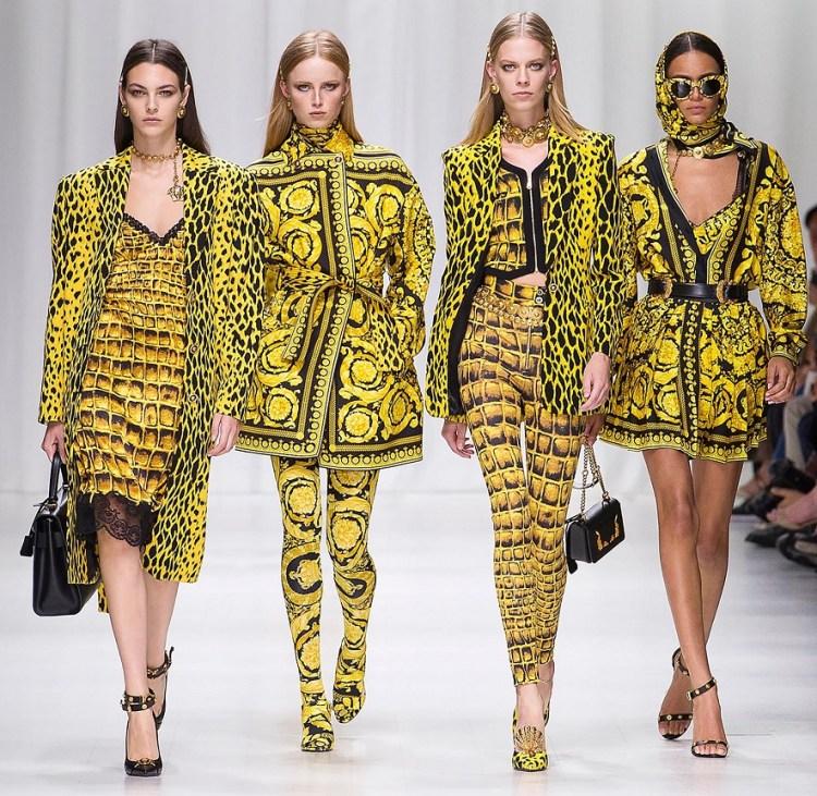 Versace leopard 2018