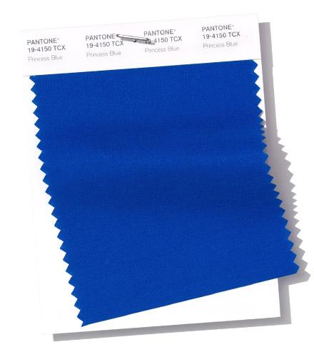 PANTONE 19-4150 Swatch Princess Blue прицессин синий
