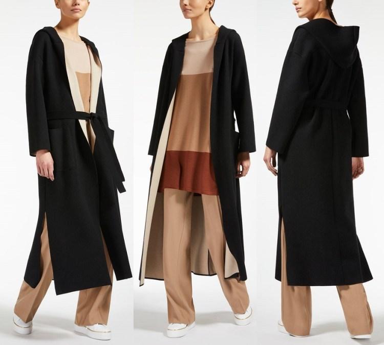длинное недорогое пальто Макс Мара 2018 2019