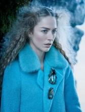 как модно стильно носить брошь с пальто