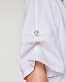 оригинальный способ стильно модно носить брошь на рукове