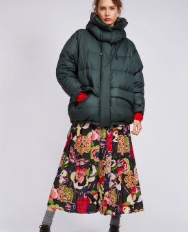 Aspesi модный пуховик в стиле 80-х- тренд зима 2018 2019