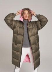 Colmar модный пуховик в стиле 80-х- тренд зима 2018 2019
