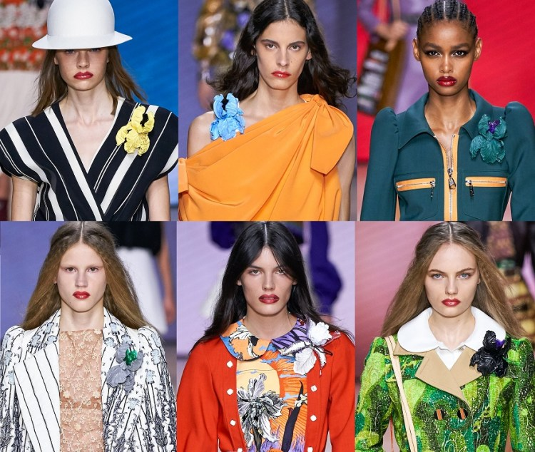 Louis Vuitton модные броши 2020