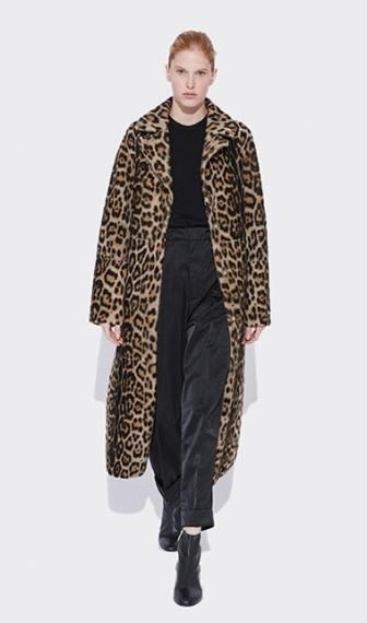 модные шубы зима 2019 тенденция леопард и животный принт