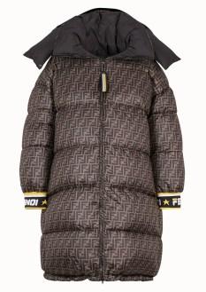 Fendi 2018 модный пуховик оверсайз трендовая вещь сезона зима 2018 2019