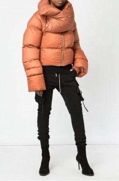 модный пуховик оверсайз - тренд зима 2018 2019 fashion trend winter 2018 2019