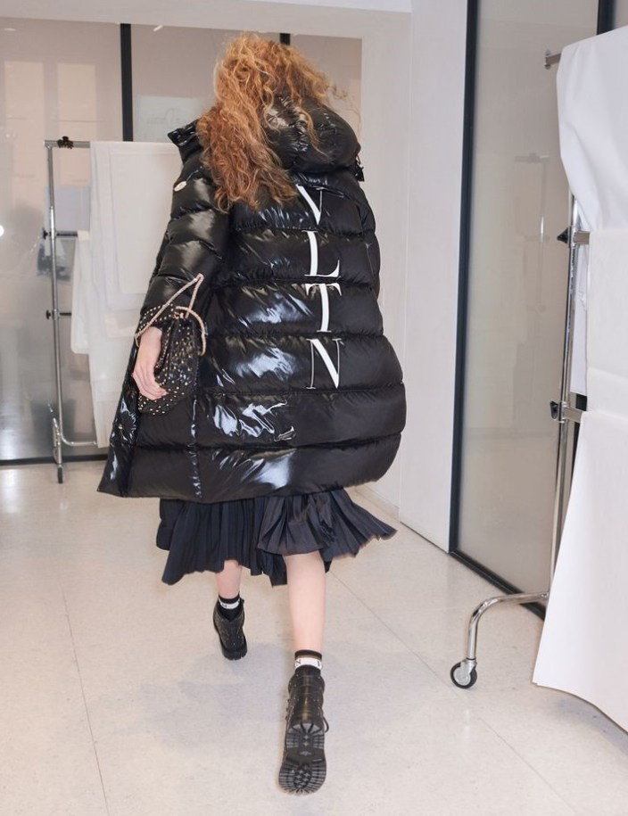 valentino fall 2018 модный пуховик оверсайз трендовая вещь сезона зима 2018 2019