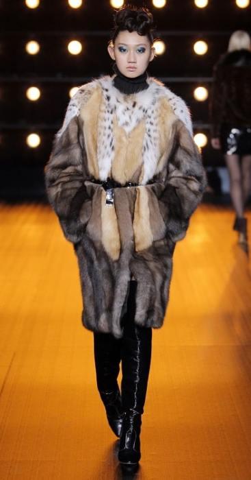 модные итальянские шубы Braschi соболь в Милане зима 2018 2019