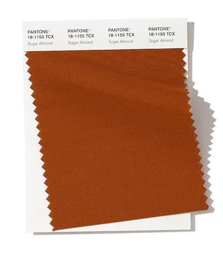 PANTONE 18-1155 Sugar Almond- Сахарный миндаль модный цвет осень зима 2020