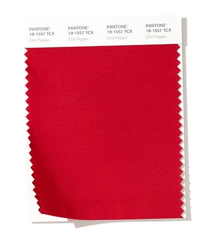 PANTONE 19-1557 Chili Pepper - Перец чили модный цвет осень зима 2020