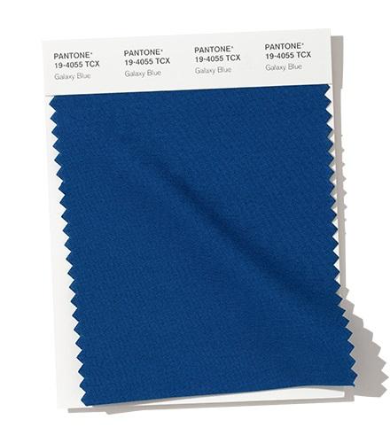 PANTONE 19-4055 Galaxy Blue – Галактический синиймодный цвет осень зима 2020