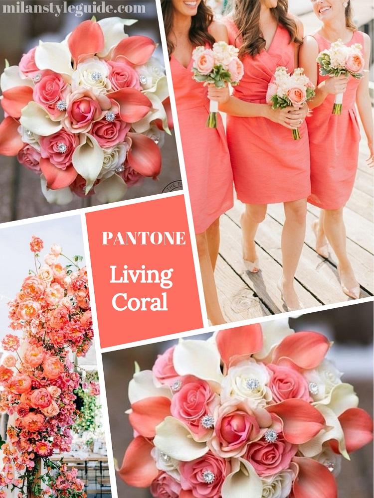 color wedding 2019 цвет свадьбы 2019 коралл