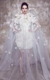 свадебная мода 2020 тренд цветы