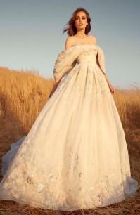 модные красивые свадебные платья 2020 MURAD BRIDAL FALL 20