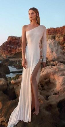 модное свадебное платье Galia Lahav2020 с разрезом на юбке