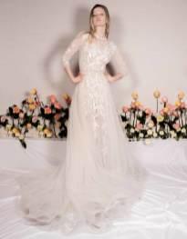 красивые свадебные платья модная тенденция 2020 прозрачность