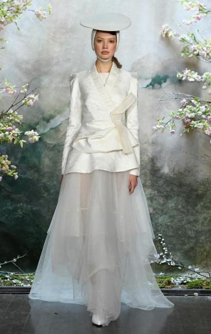 свадебные платья 2020 тренд блейзер жакет