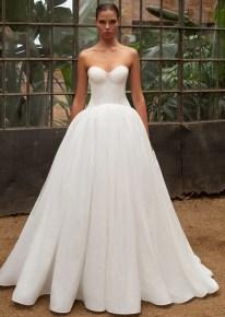 самые модные красивые свадебные платья zac posen