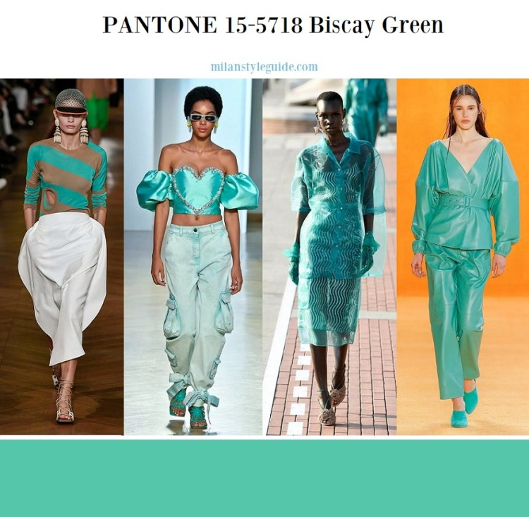 PANTONE 15-5718 Biscay Green