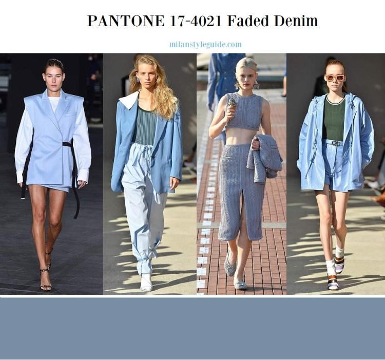 PANTONE 17-4021 Faded Denim