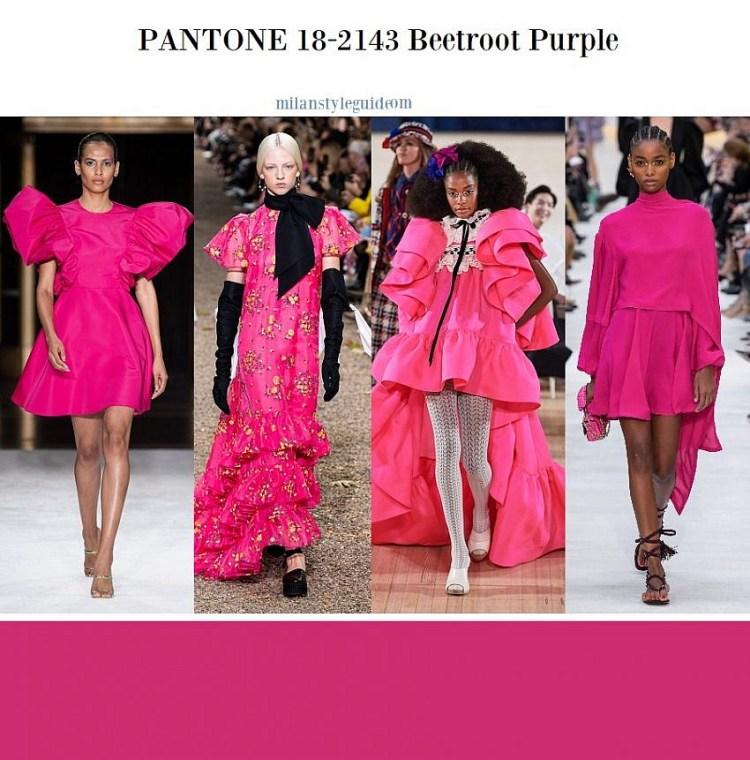 модные цвета весна лето 2020 18-2143 Beetroot Purple