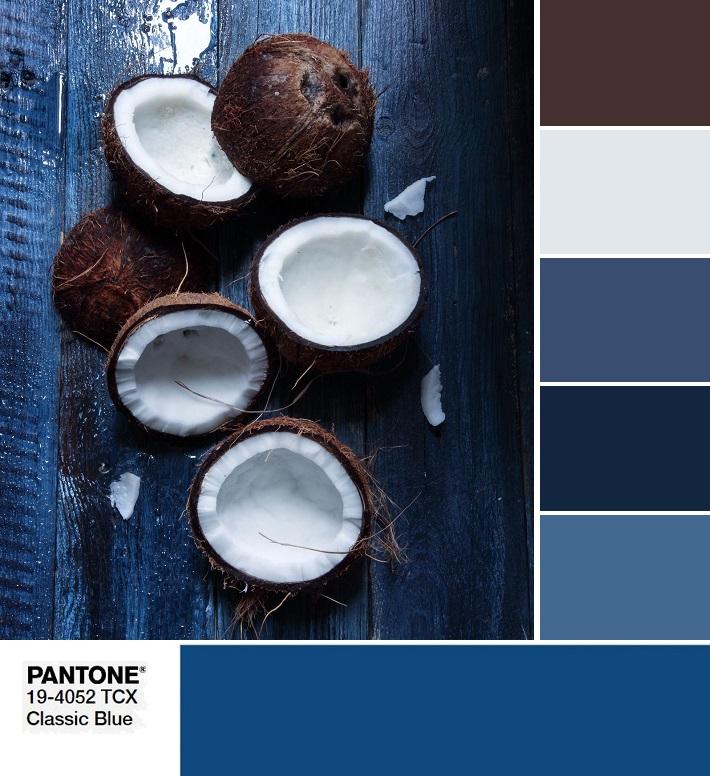 модные цвета весны и лета 2020 PANTONE 19-4052 Classic Blue