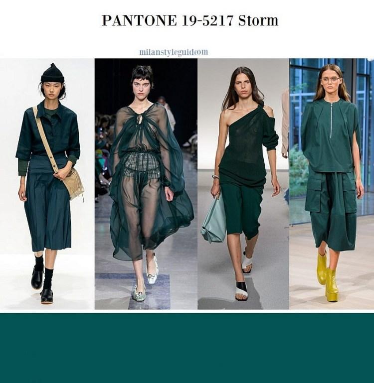 модные цвета весна лето 2020 19-5217 Storm