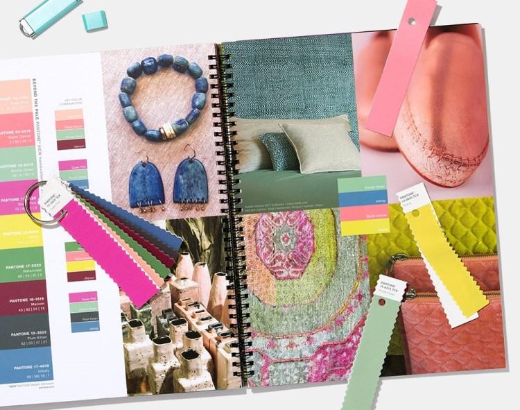 модные цвета Пантон лето весна 2020