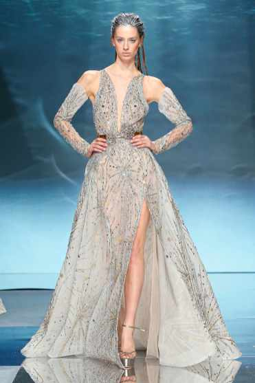 wedding dress Ziad Nakad Haute Couture SS20 Paris