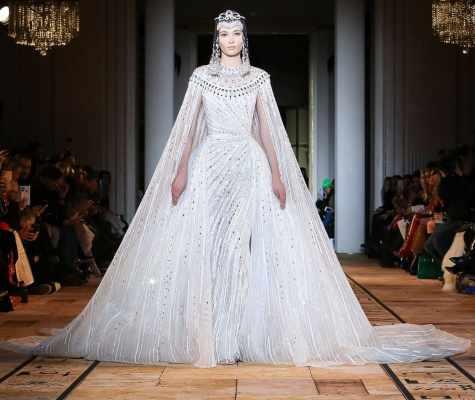 Zuhair Murad Haute Couture весна лето 2020 Париж weding dress