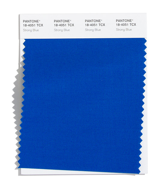 PANTONE 18-4051 Strong Blue
