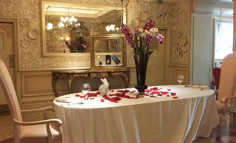 красивый хороший романтический ресторан в милане