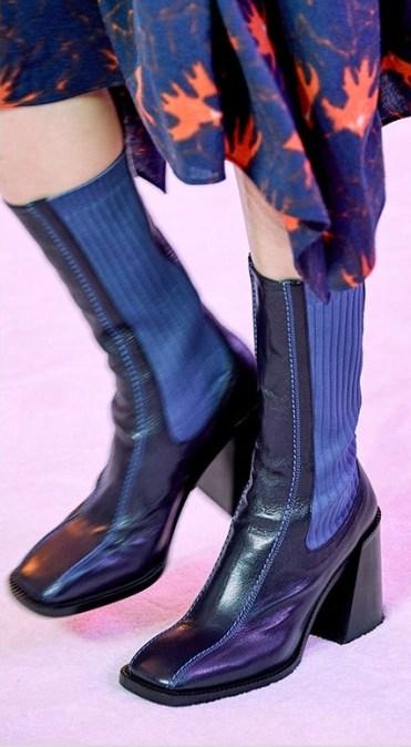 модная обувь весна осень зима 2020 квадратный нос 3