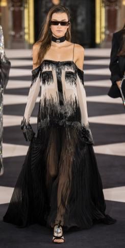 плиссе юбка платье Balmain 2020