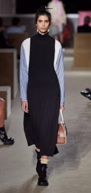 плиссированная юбка Прада Resort 2020