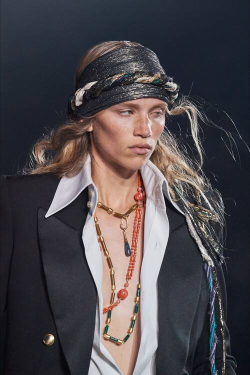 Модные украшения 2020 тенденция ожерелья sautoir