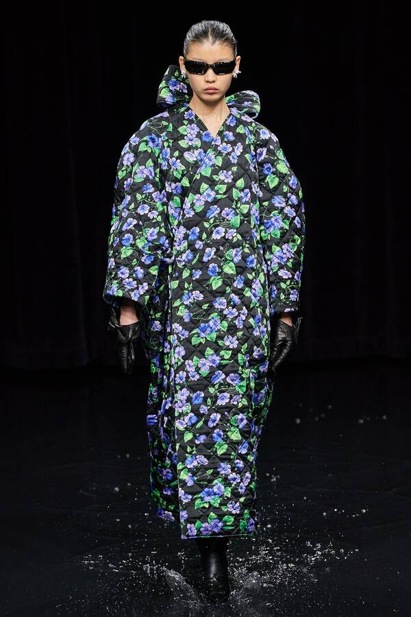 модное стеганое пальто осень 2020 зима 2021 тенденция