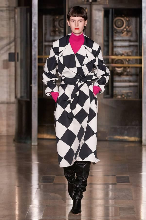 модное пальто в клетку 2020 2021