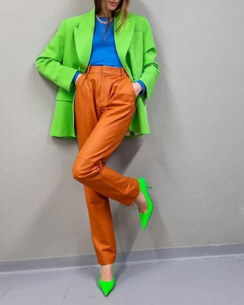 модные цвета весна лето 2021 зеленый цвет