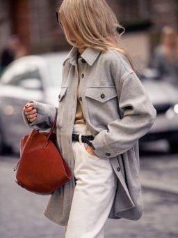 куртка рубашка стрит стайл