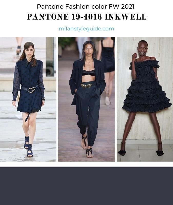 PANTONE 19-4016 Inkwell - Чернильница