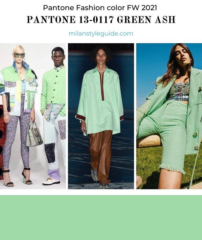 PANTONE 13-0117 Green Ash - Зеленый ясень
